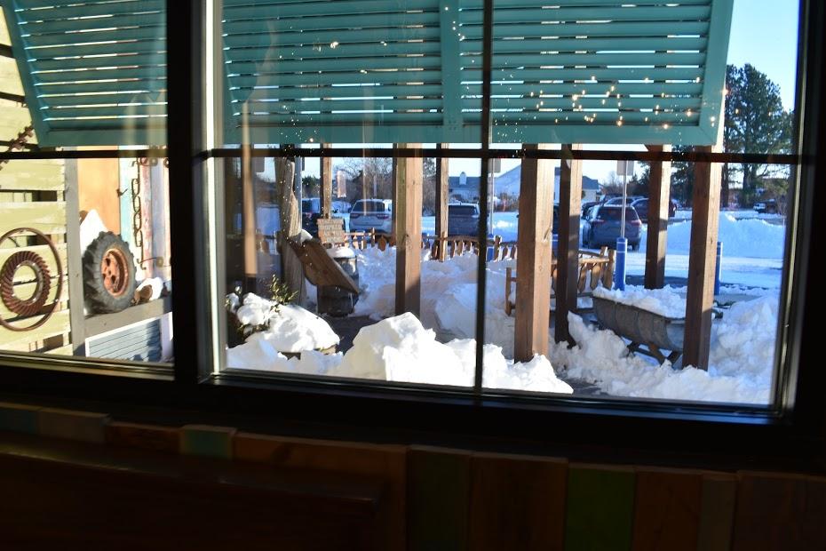 Crooked Hammock snow